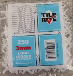 3MM Long Legged Cross Spacers Pack 250
