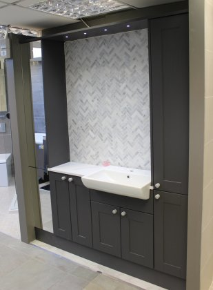 Chiltern Clay Carbon By Calypso Fitted Bathroom Furniture